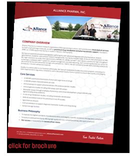 Alliance Pharma (CRO)