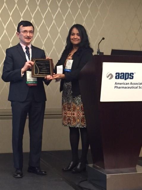 masood khan AAPS award