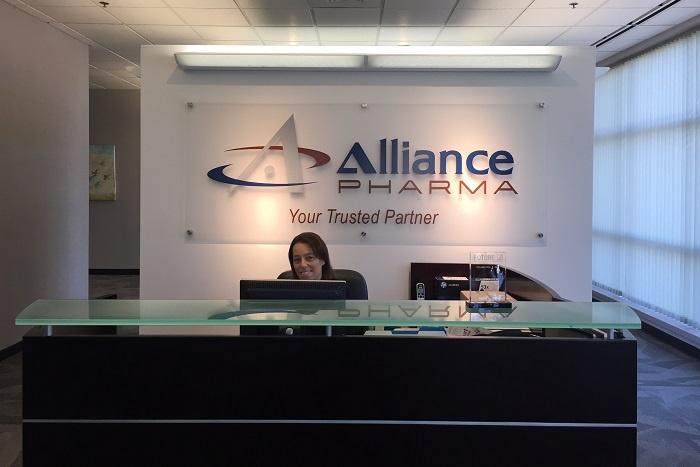 Alliance Pharma reception